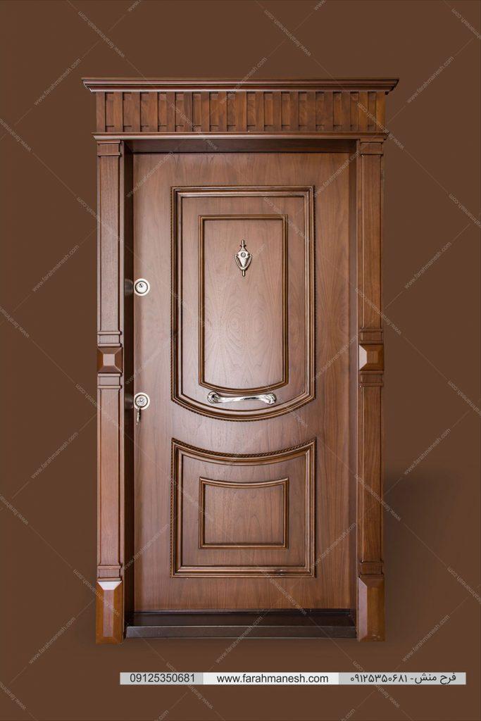 عکاسی درب ضدسرقت عکاسی درب چوبی عکاسی قطعات چوبی لوکس عکاسی تاج چوبی عکاسی محصولات چوبی