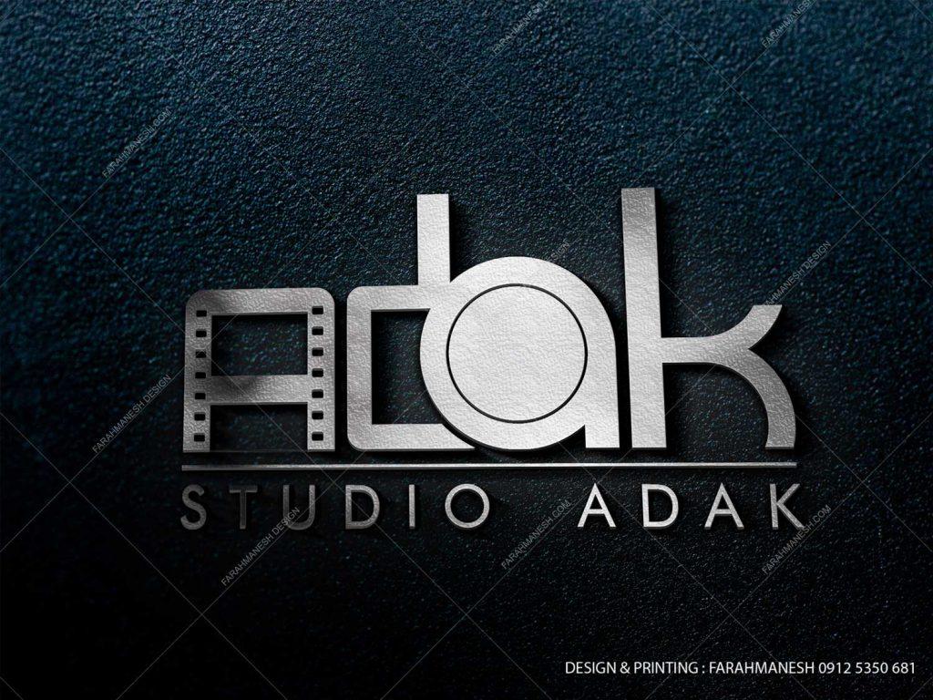 طراحی لوگو استودیو اداک